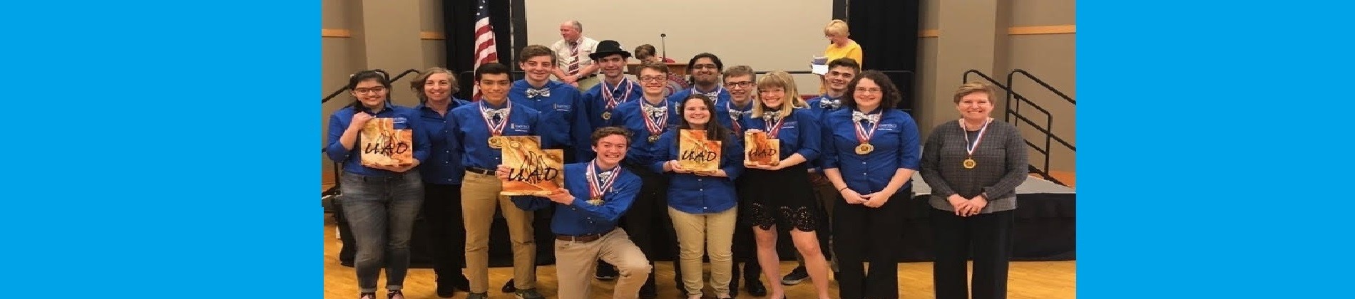 Academic Decathlon 2018 State Champs!!!!